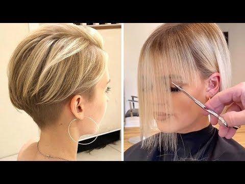Best Short Bob Cut For Women | Pixie Haircut | Tre
