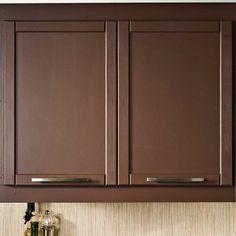 Transformer une armoire de m lamine avec des moulures en - Transformer une armoire en bureau ...