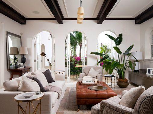 Style Guide Spanish Colonial Revival Spanish Living Room Mediterranean Living Rooms Mediterranean Living Room