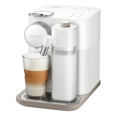 DeLonghi Nepresso Gran Latissima Automatic Espresso Machine Color: Fresh White #espressomaker