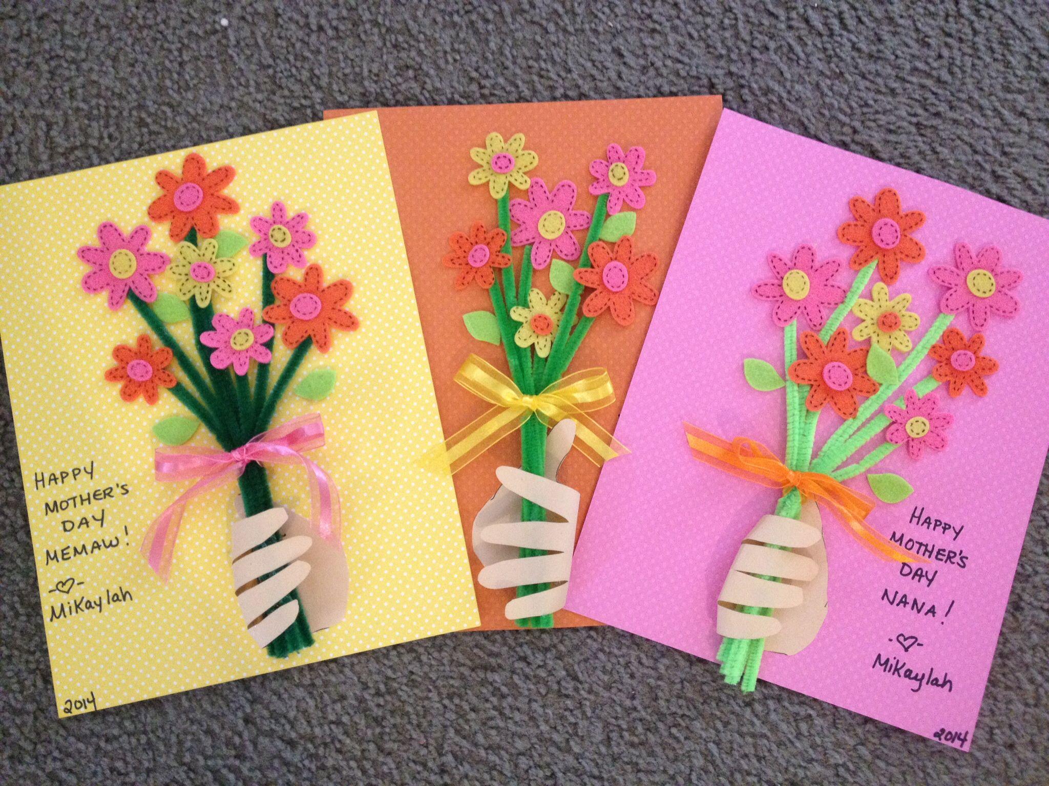 Открытка своими руками на праздник день матери