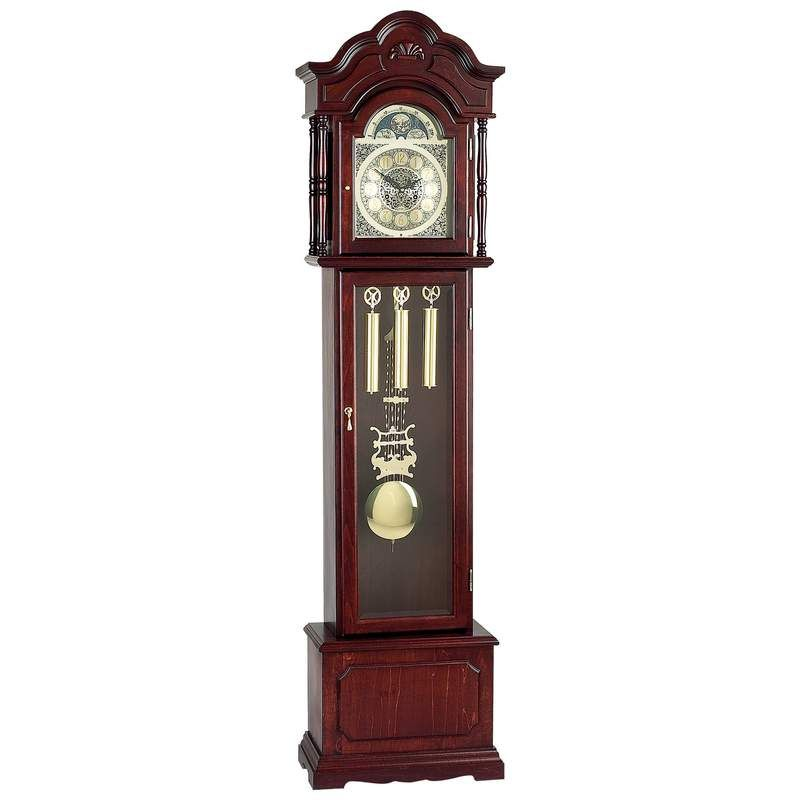 Grandfather Clock with Beveled Glass Grandfather clock
