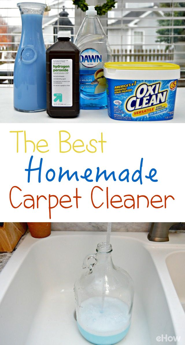 The Best Homemade Carpet Cleaner Recipe Home Homemade