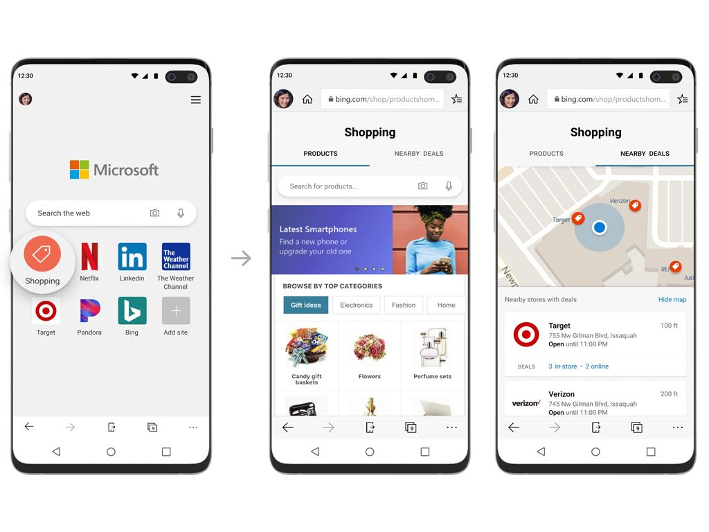 Microsoft S Edge Mobile Web Browser Gains A Cool New Shopping Feature On Ios And Android Microsoft Latest Smartphones Mobile Web