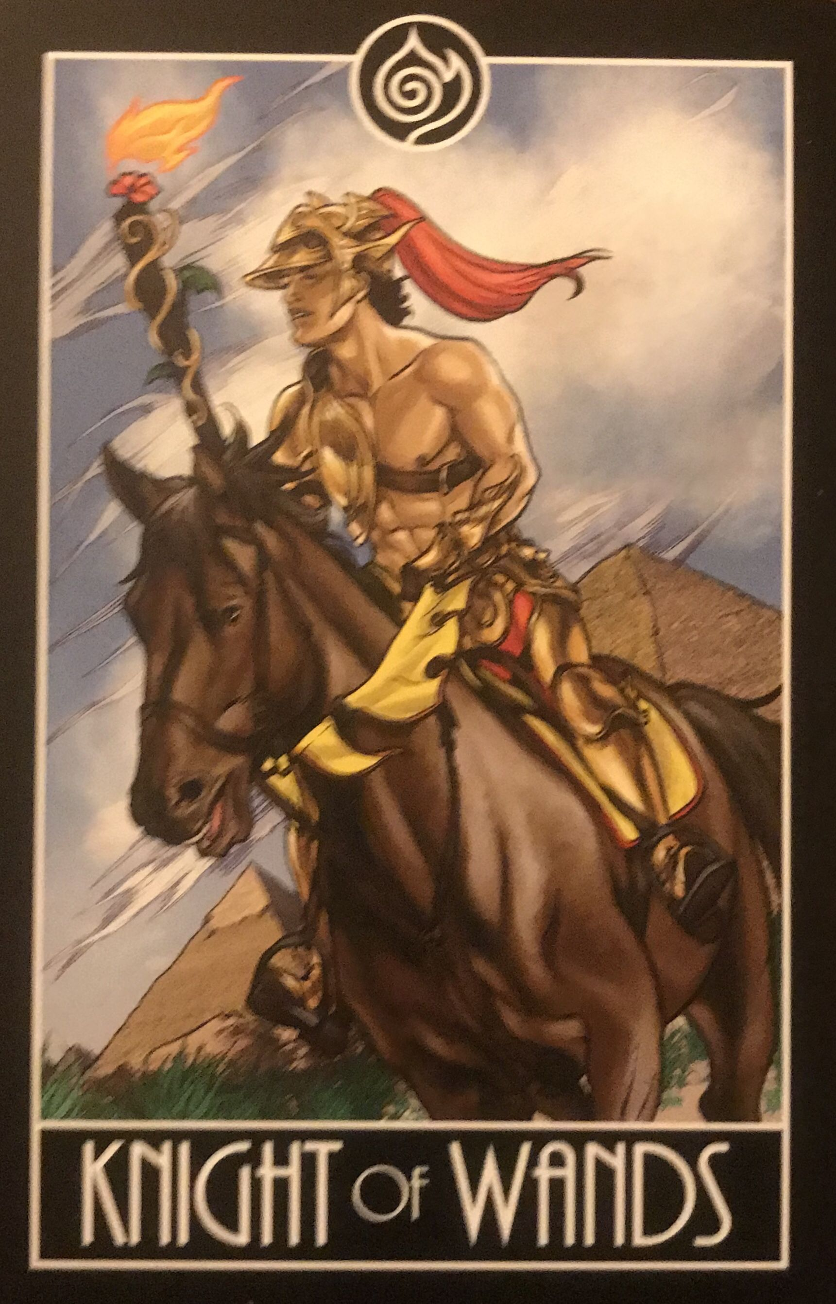 Card of the day knight of wands wednesday september