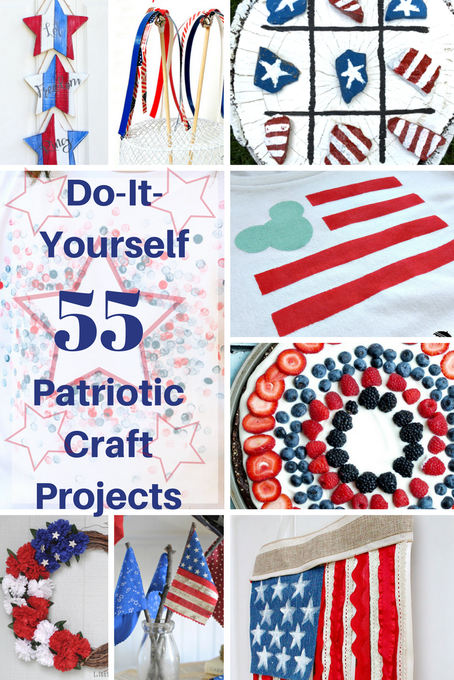 Over 55 Patriotic Craft Projects for a Festive Celebration 96393dc25
