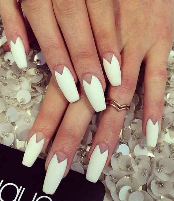 Nail Manicure 2016 2017 Dancer Shape Or Coffin The Latest