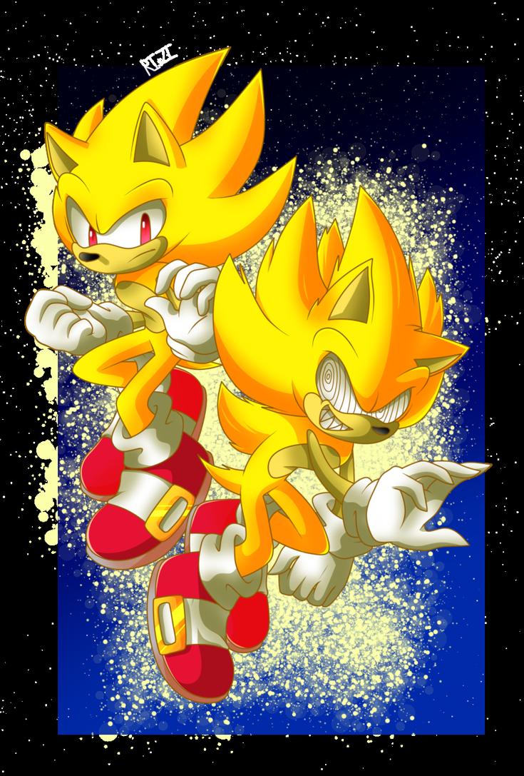 Fleetway Super Sonic Sonic Art Sonic Super