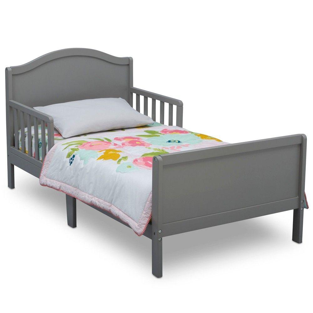 Delta Children Bennett Toddler Bed Bianca White Adult Unisex