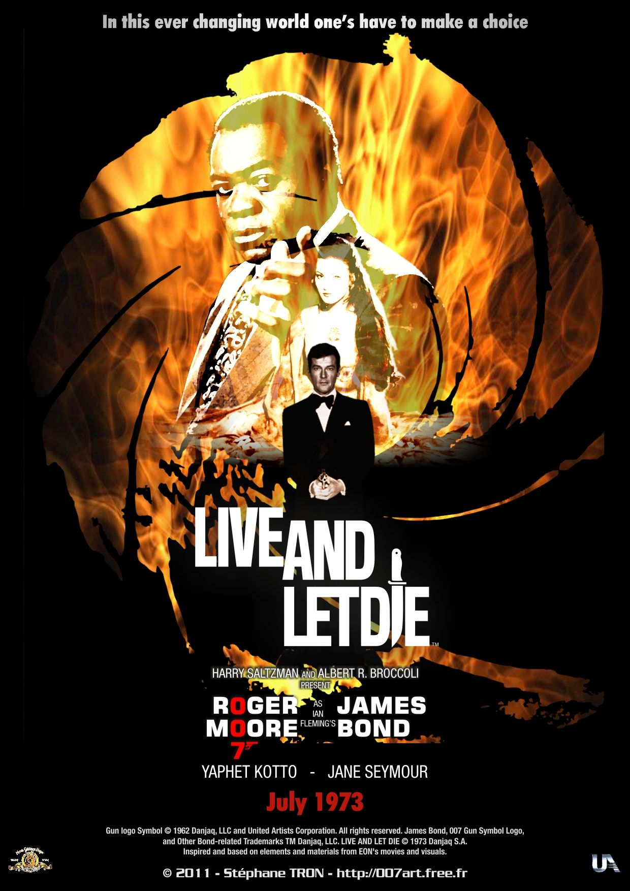 Live And Let Die Poster 2 With Images James Bond Movies