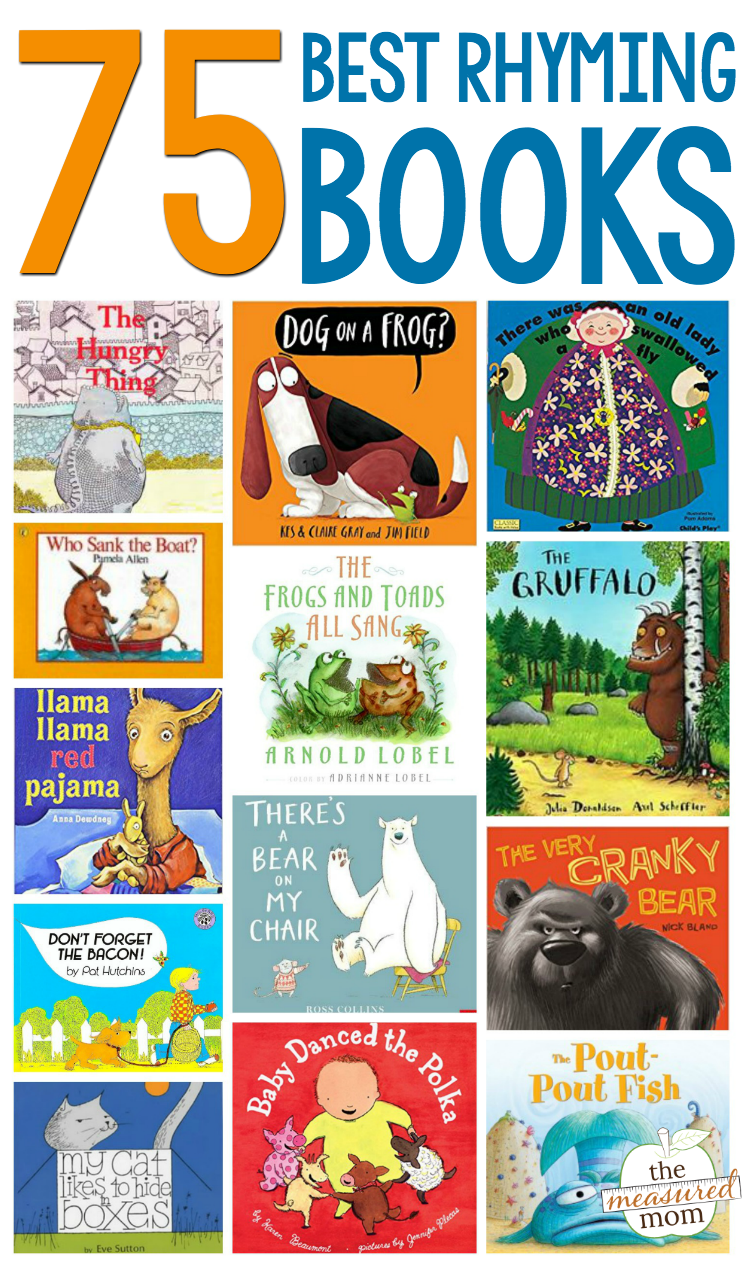 The ultimate list of books that rhyme | Reading Lists for Kids ...