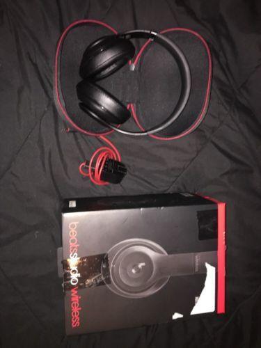 Beats by Dr. Dre Studio Wireless Headband Wireless Headphones - Matte black https://t.co/t0vVg996Ue https://t.co/4O2p6zFPfW