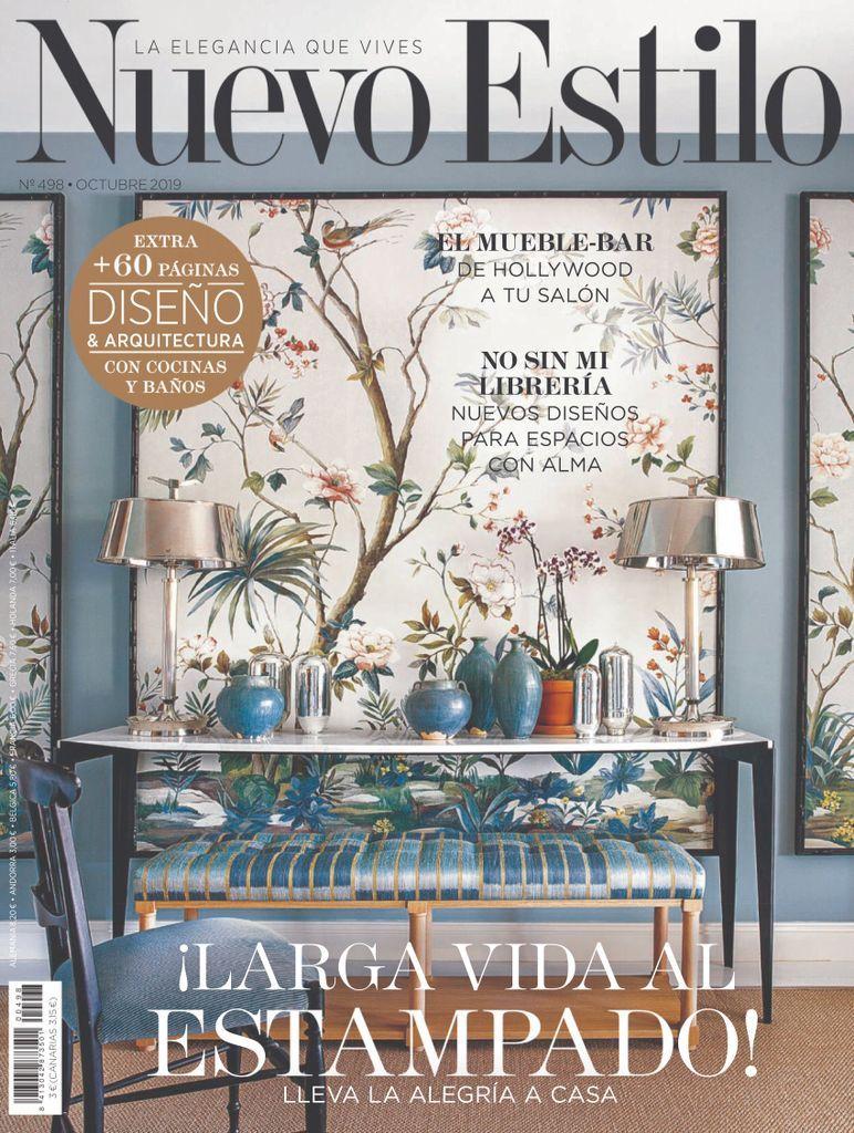 Nuevo Estilo Back Issue Octubre 2019 Digital Shabby Vintage Home Decor Decals Gallery Wall