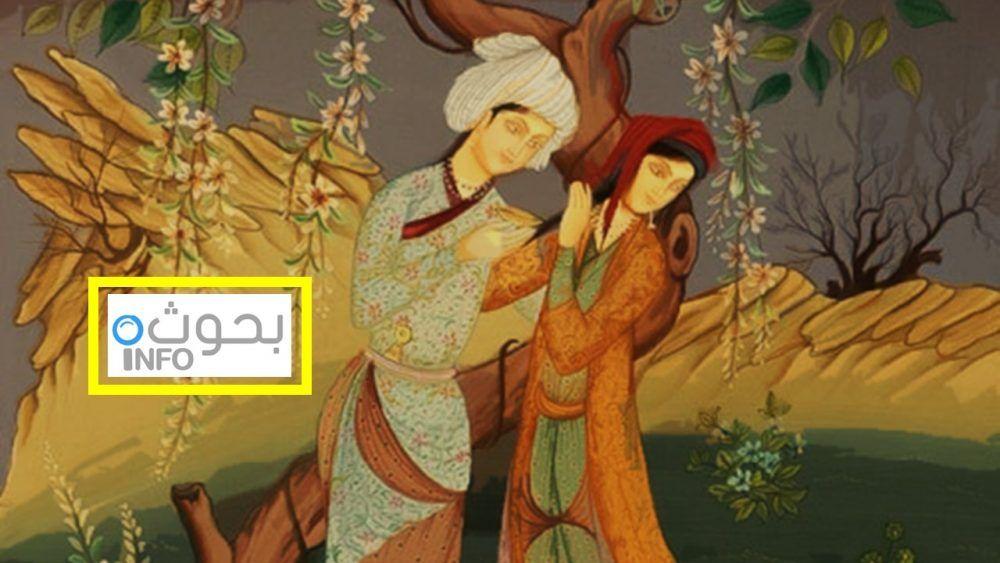 قصة قيس وليلى أشهر قصص الحب بالأدب العربي Art Painting
