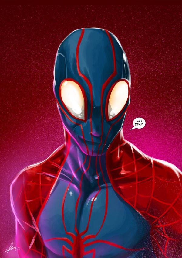 Spiderman Custom Costume By Eimrehsdeviantartcom On DeviantArt