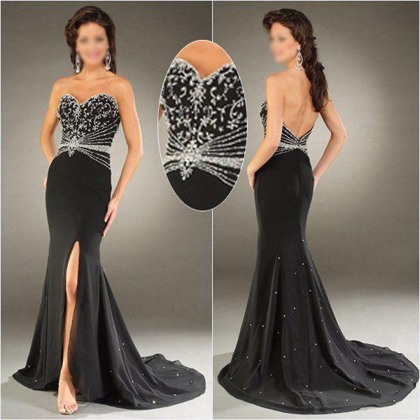 Black Wedding Dresses, Prom