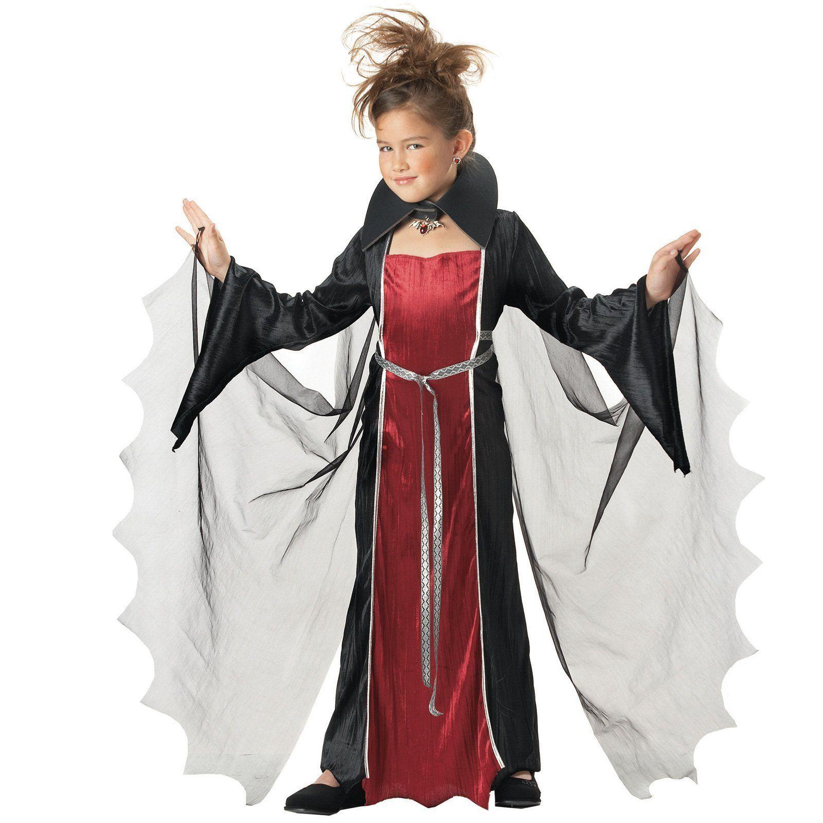 Vampire Girl Child Costume eBay Girls vampire costume