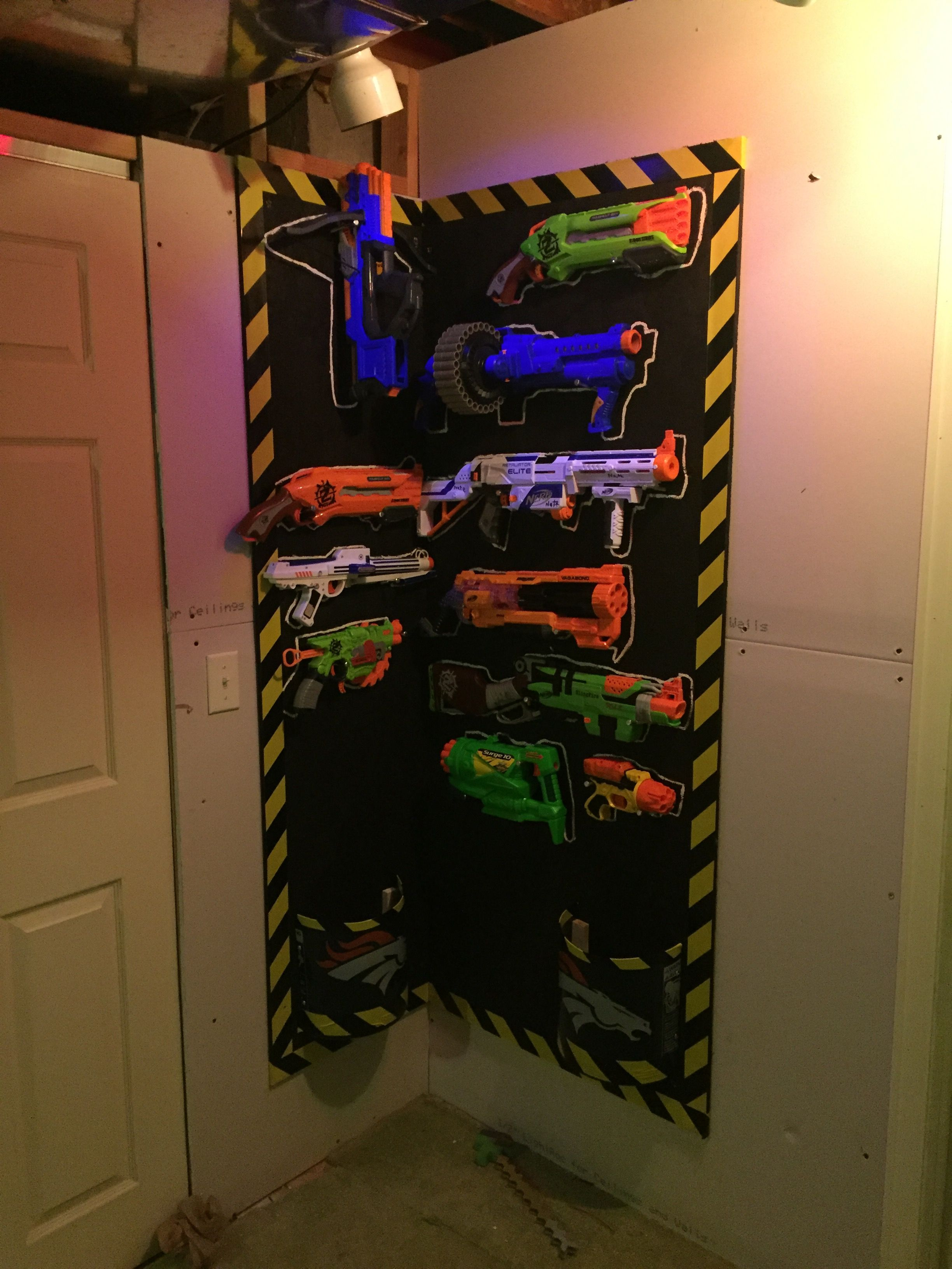 Boy Bedroom Storage: Pin By Pete On Nerf Gun Storage In 2019