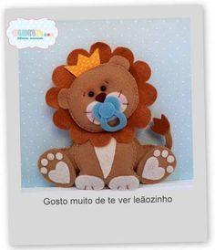 Baby Leão de molde De Silicone E Amigos