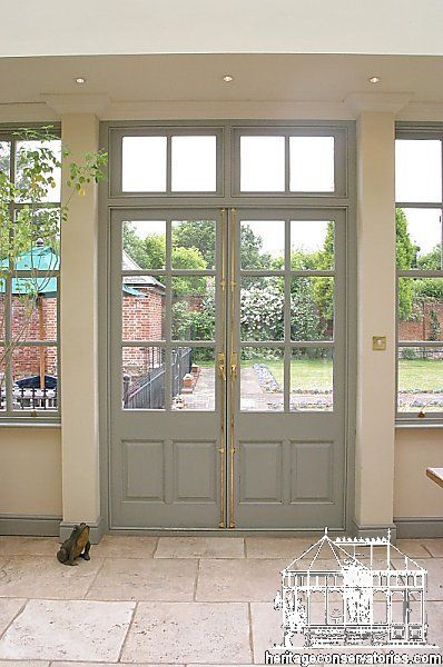 Old French Windows And Doors | Click On The Images To Enlarge