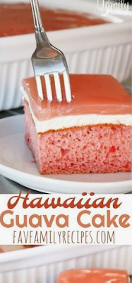 Hawaiian Guava Cake | DRINK & FOOD RECIPES #hawaiianfoodrecipes