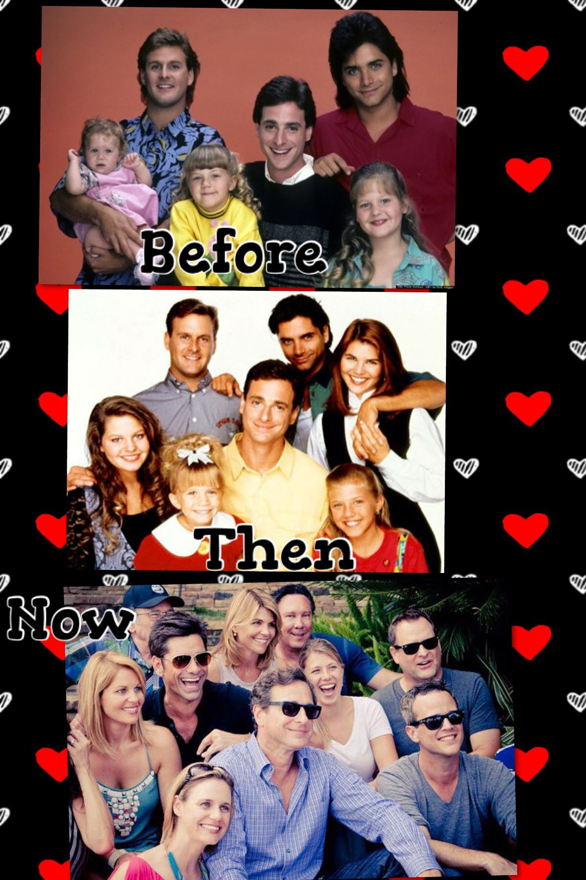 Full house beforethen and now Full house quotes
