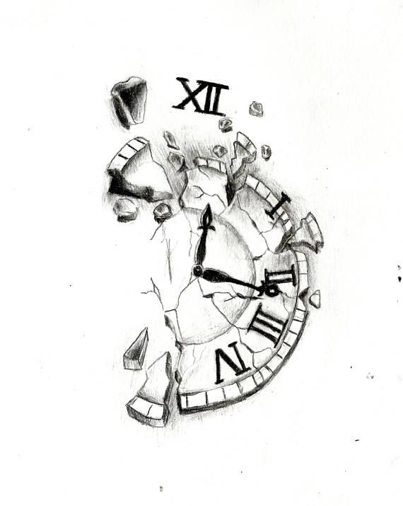 Clock Drawing Art