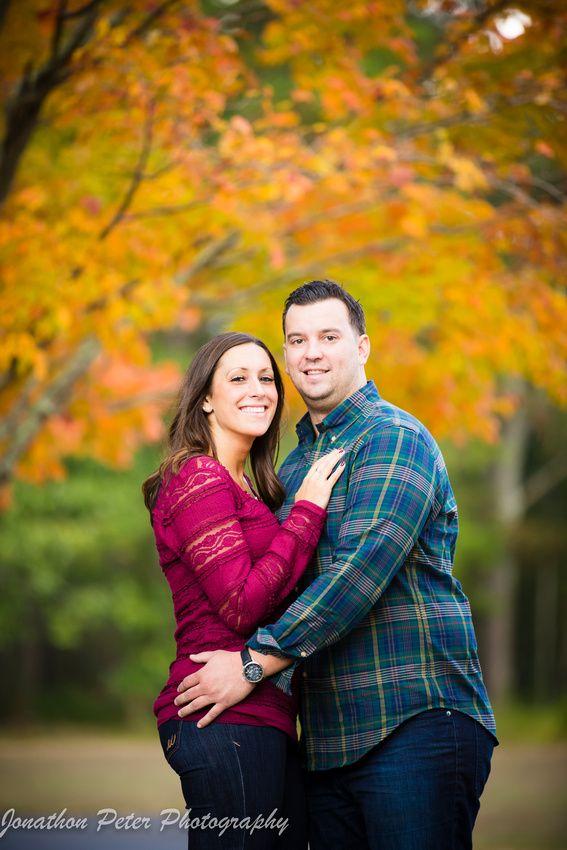 Erin & Brian - Batsto Village engagement session