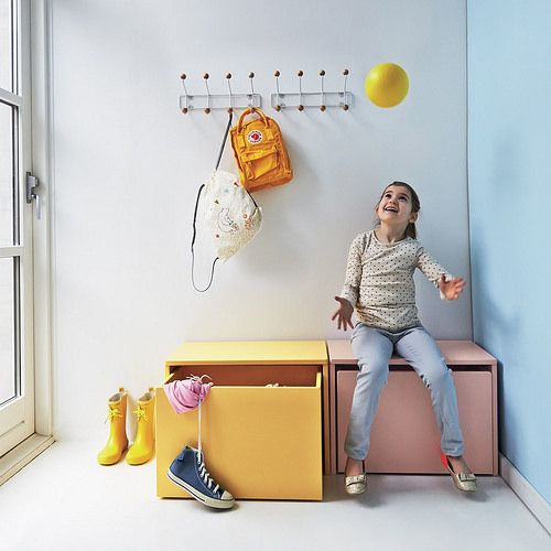 Great looking toy storage. By Flexa Play. A #CanDoBaby! fave.