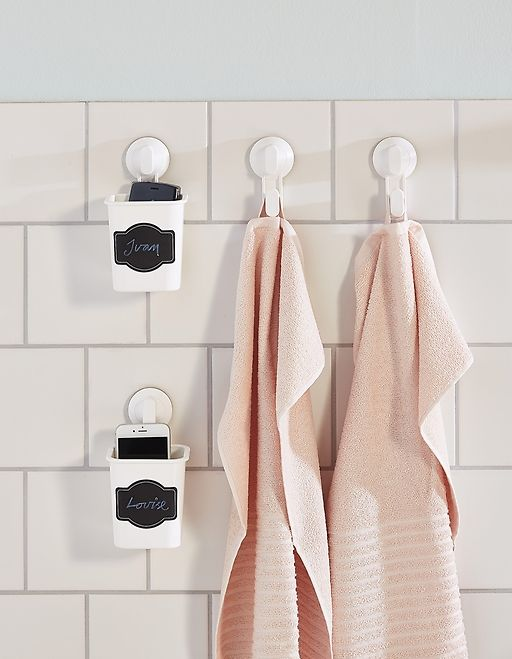 Want Suction Hooks For Your Bathroom? White Plastic STUGVIK Toothbrush  Holder From IKEA Has A Suction Cup Hook And Sticks Onto Glass, Mirrors Or  Tiu2026