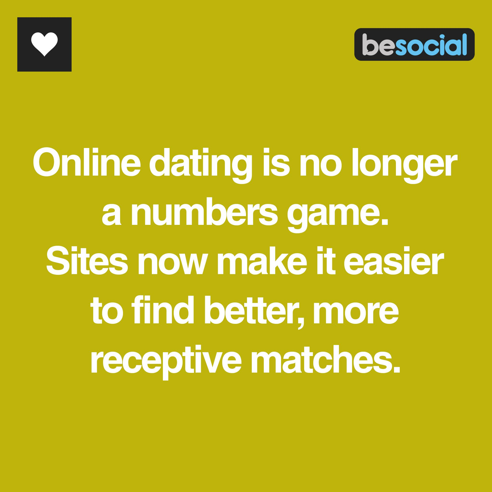 Numbers game online dating
