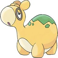 Numel is a Fire/Ground type Pokémon introduced in Generation 3. It is known as the Numb Pokémon.