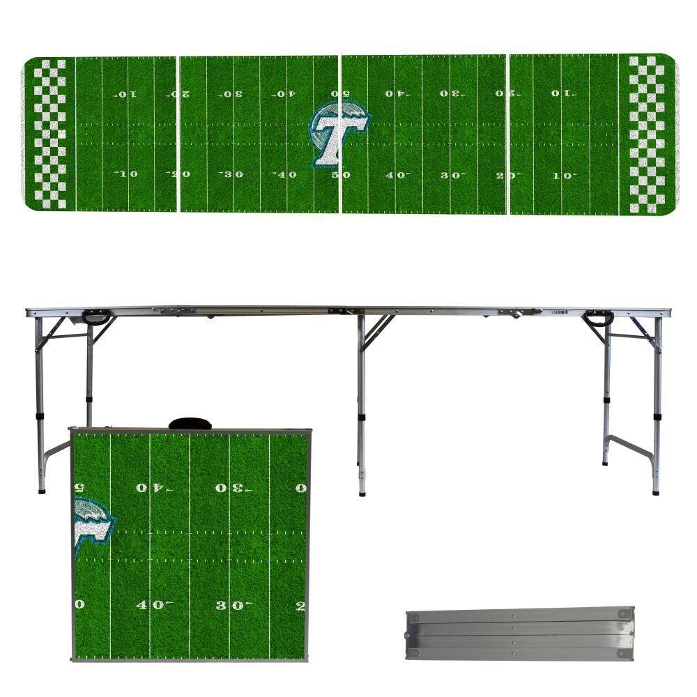 Tulane Green Wave Football Field Folding Table