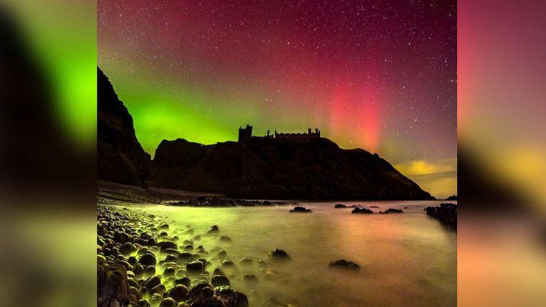 RT_com: Dazzling phenomenon: Northern Lights make spectacular rare appearance in UK & Ireland https://t.co/zp5zS2GI29