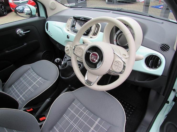 Image Result For Mint Fiat 500 Lounge Fiat 500 Fiat 500 Lounge