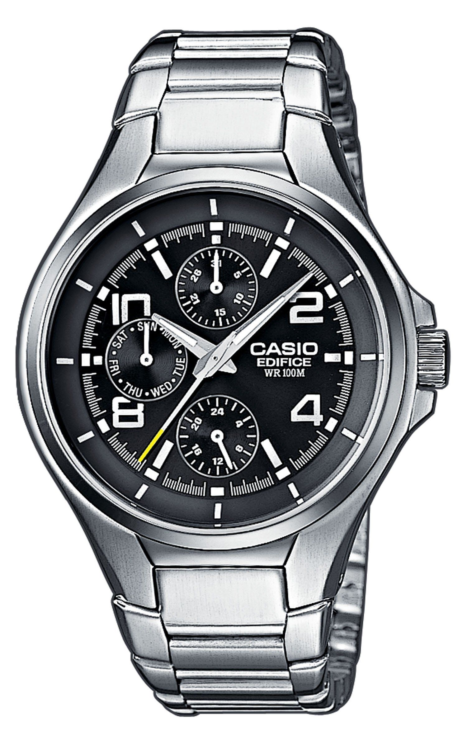 829f610380f6 CASIO EF-316D-1AVEF Edifice - Reloj de caballero de cuarzo