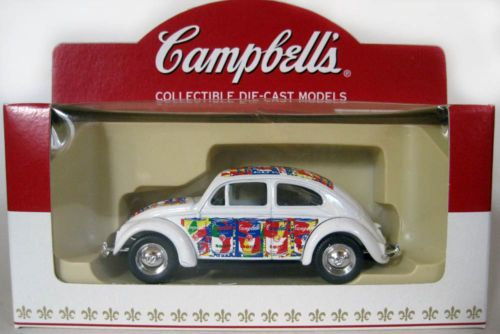 1952 Vw Beetle Lledo Campbell S Soup Andy Warhol Die Cast Model Nib Campbell Soup Campbells Vw Beetles