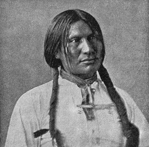 Lakota Sioux: Chief Big Foot - killed at Wounded Knee Massacre.