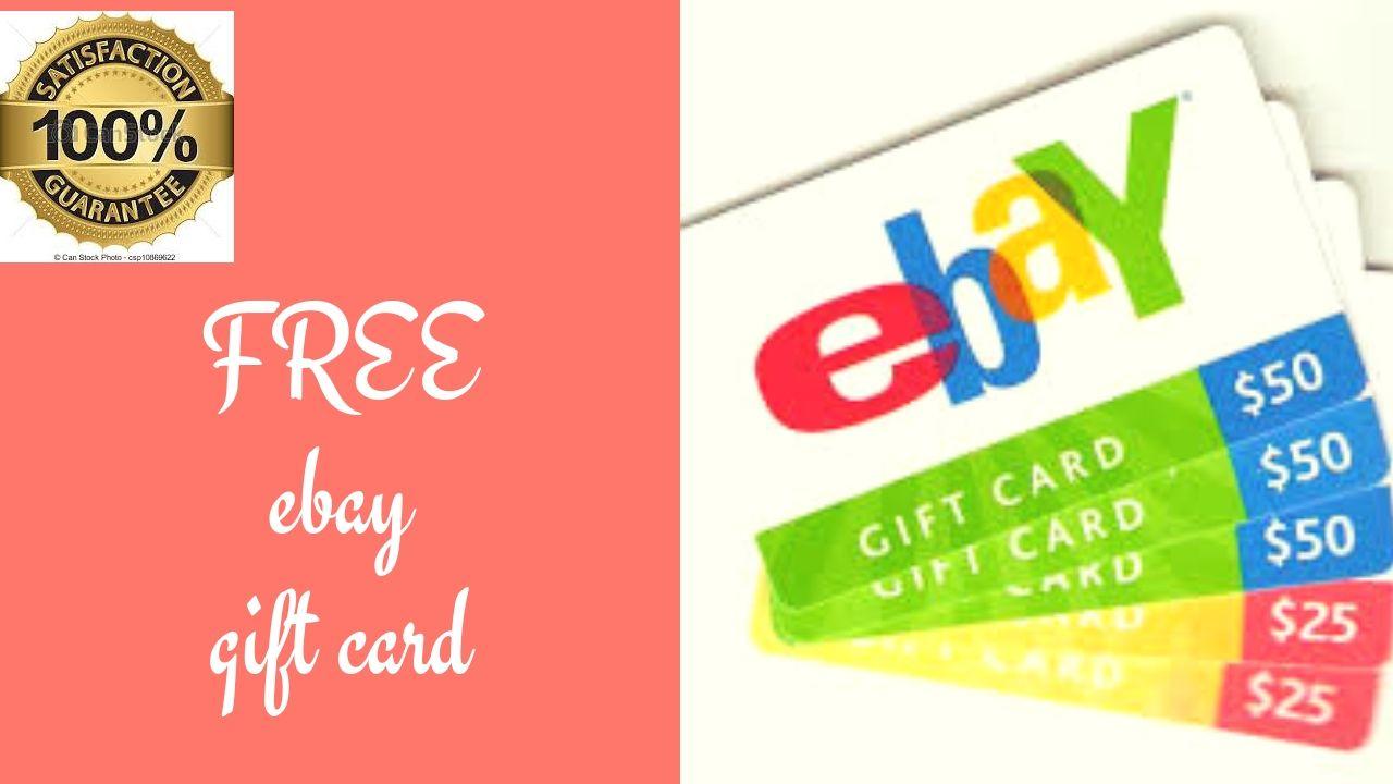 Ebay gift card code generator free gift card generator