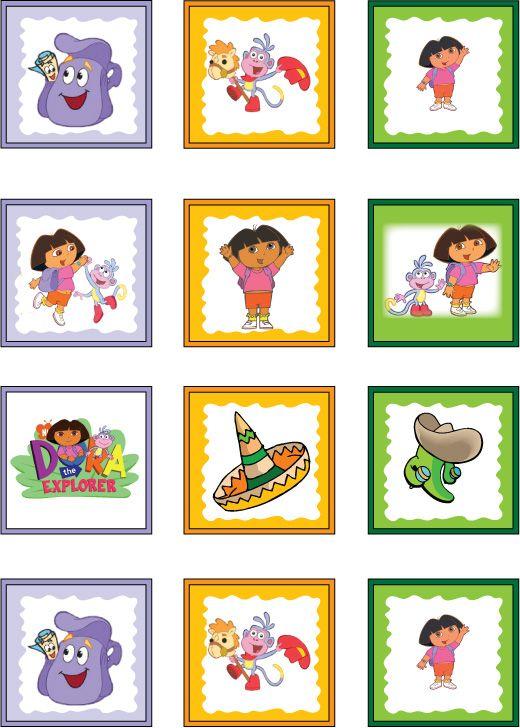 Memory 5 Jeux De Mémo Dora L Exploratrice Et Dora
