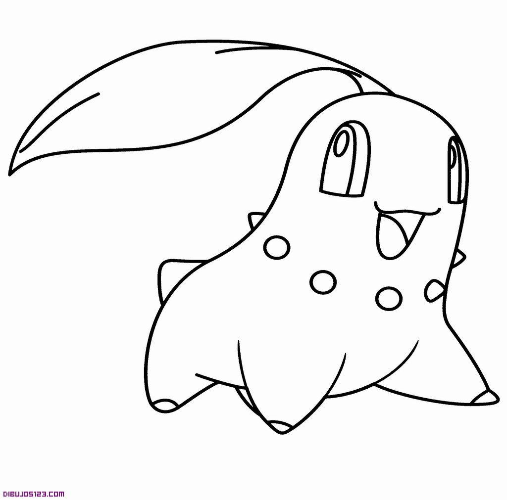 Alle Pokemon Ausmalbilder : Chikorita Para Colorear Para Colorear Pinterest Pok Mon