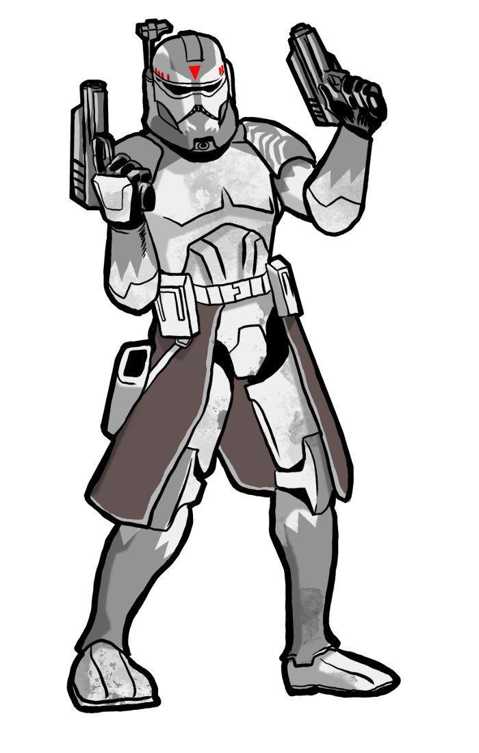 Clone Commander Wolffe by KhairulHisham on DeviantArt | Star Wars ...