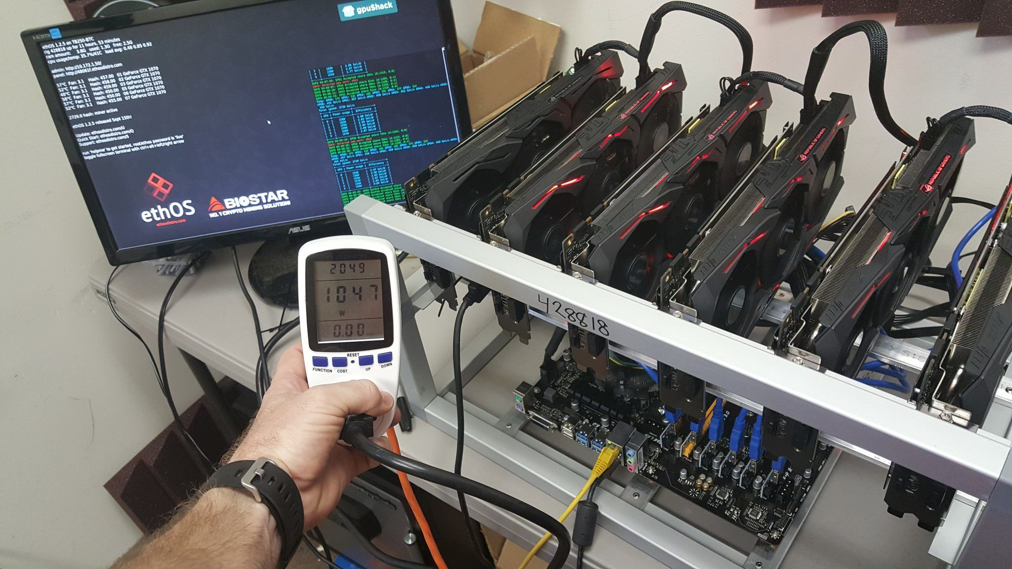 Build Your Own Etherium Mining Rig At Home