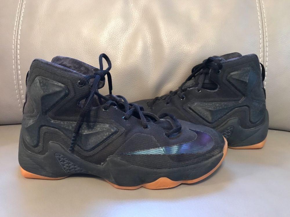 newest 26c01 34de9 Nike Lebron XIII (808709-001) Black Gum    Youth Sz 6y Used   fashion   clothing  shoes  accessories  kidsclothingshoesaccs  boysshoes (ebay link)
