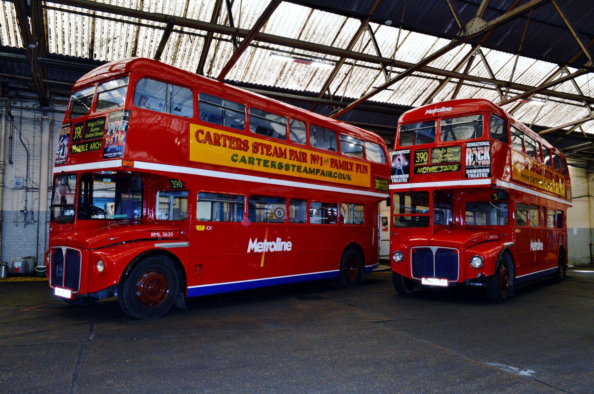 Metroline Routemaster London Bus Routemaster Bus