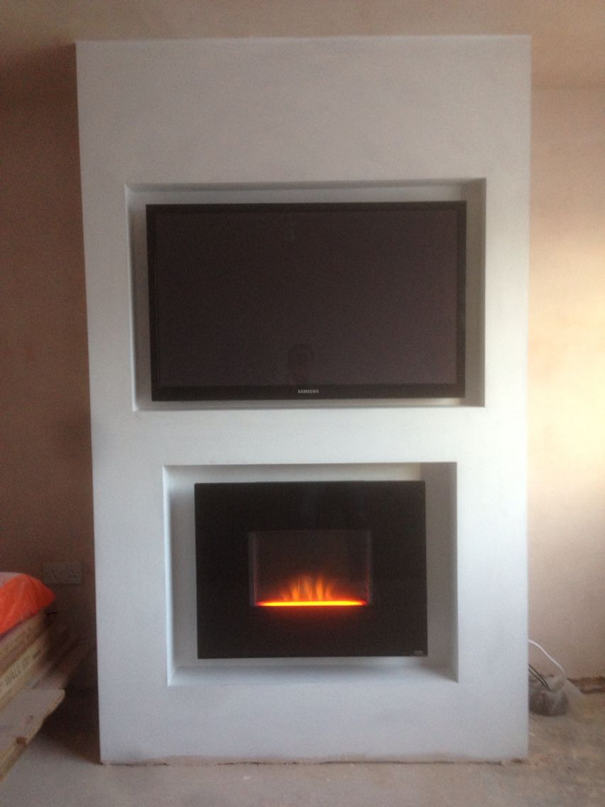 in heater ws recessed mounted fireplace black wall g built electric