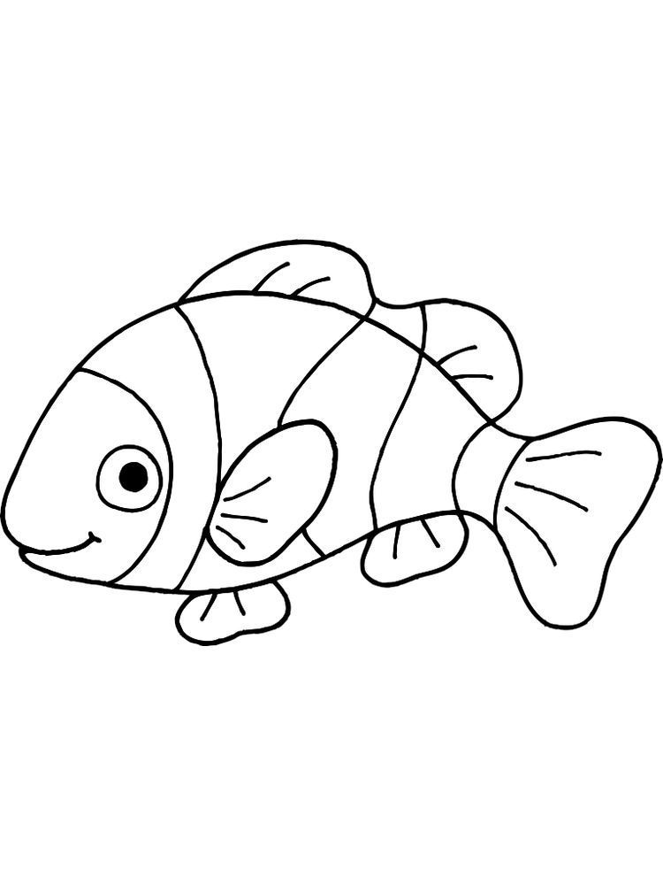 Fish And Bread Coloring Page Below Is A Collection Of Fish Coloring Page Which You Can Download For Fr Fish Coloring Page Animal Coloring Pages Coloring Pages