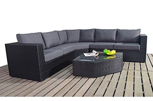 prestige angle corner luxury rattan garden furniture wgf 303