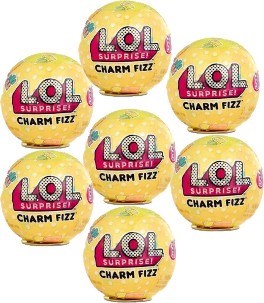 L O L Surprise L O L Surprise Charm Fizz Series 3 Set Of 7