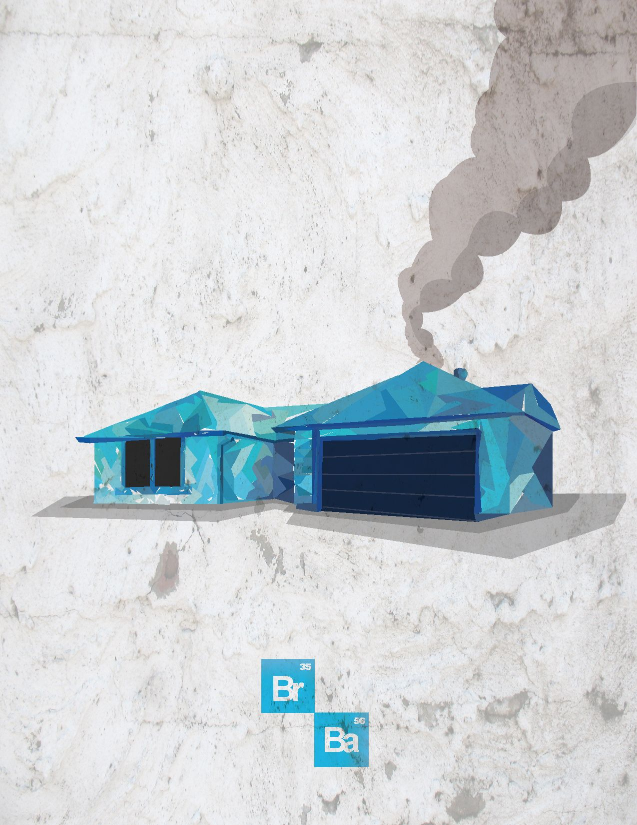 Breaking Bad Inspired Illustration 308 Negra Arroyo Lane Www